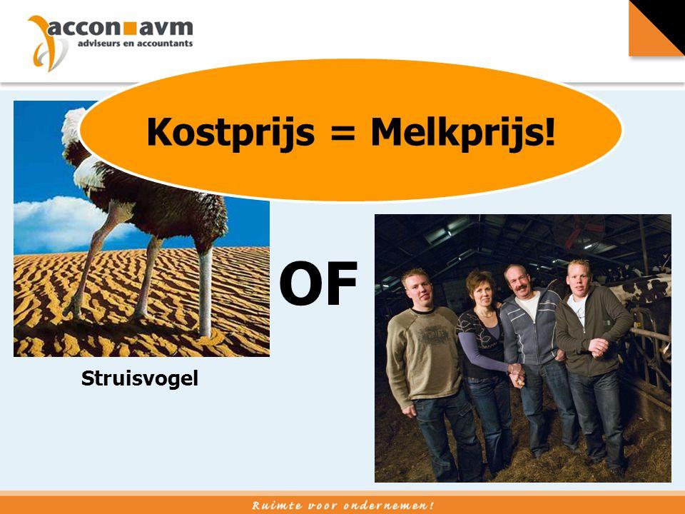 Struisvogel Blij gezin OF Kostprijs = Melkprijs!
