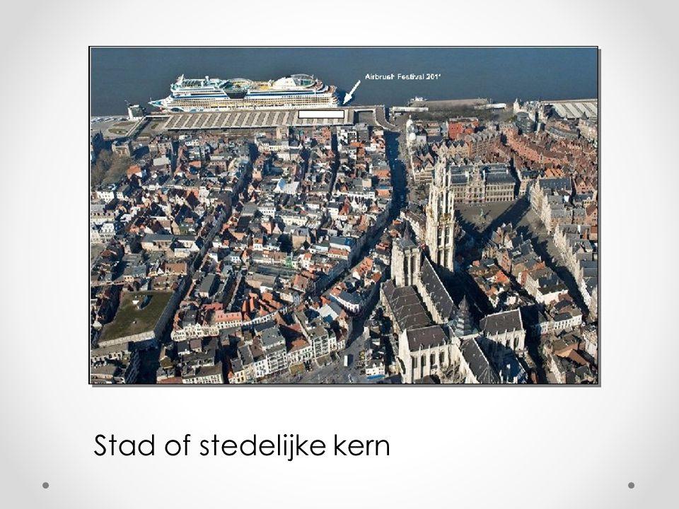 Stad of stedelijke kern