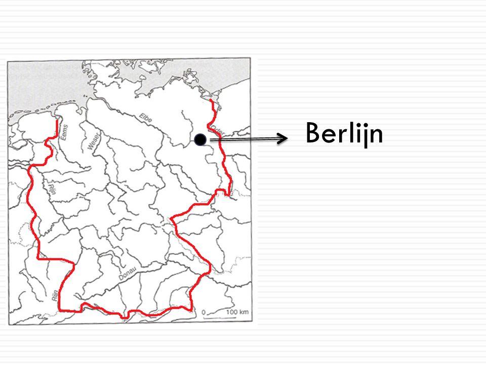 Berlijn voor en na de hereniging