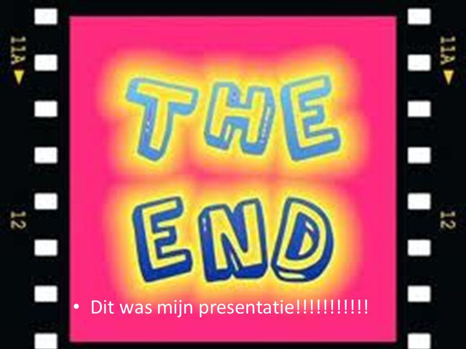 Dit was mijn presentatie!!!!!!!!!!!