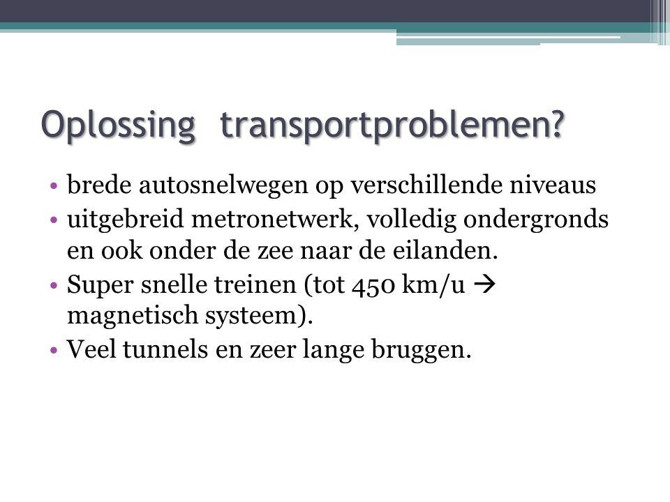 Oplossing transportproblemen.