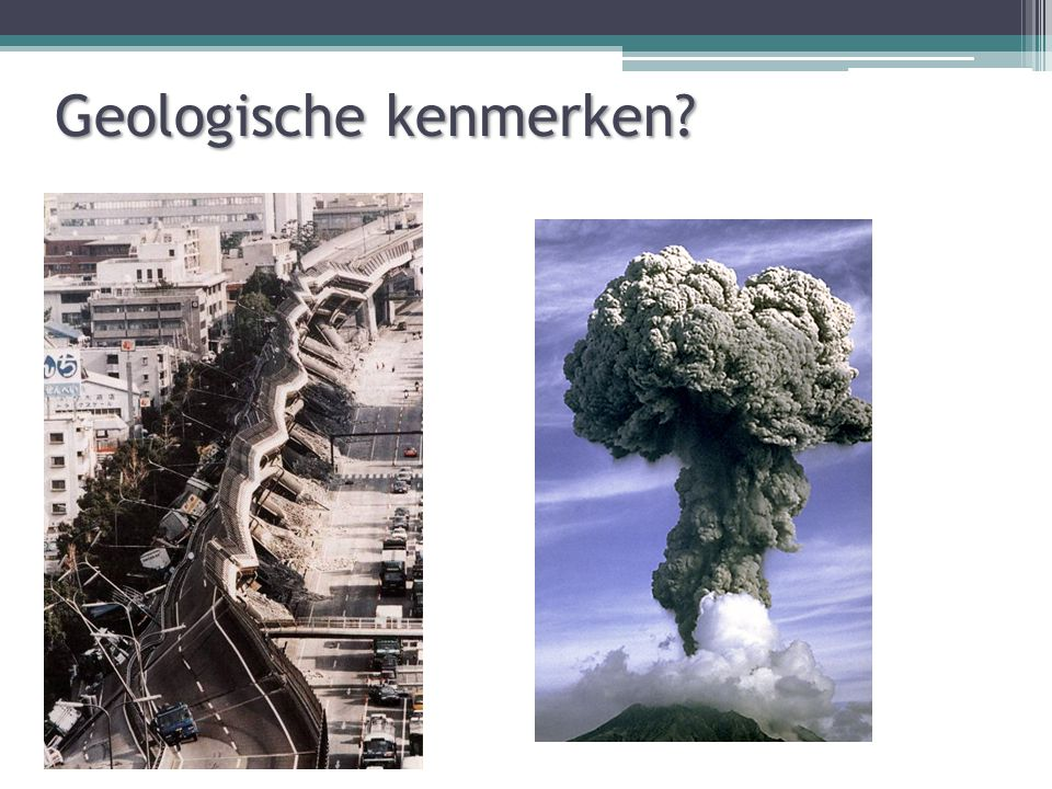 Geologische kenmerken?