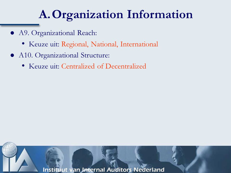 B.Internal Audit Resources Dia nummer 8 Internal Audit Costs B1.