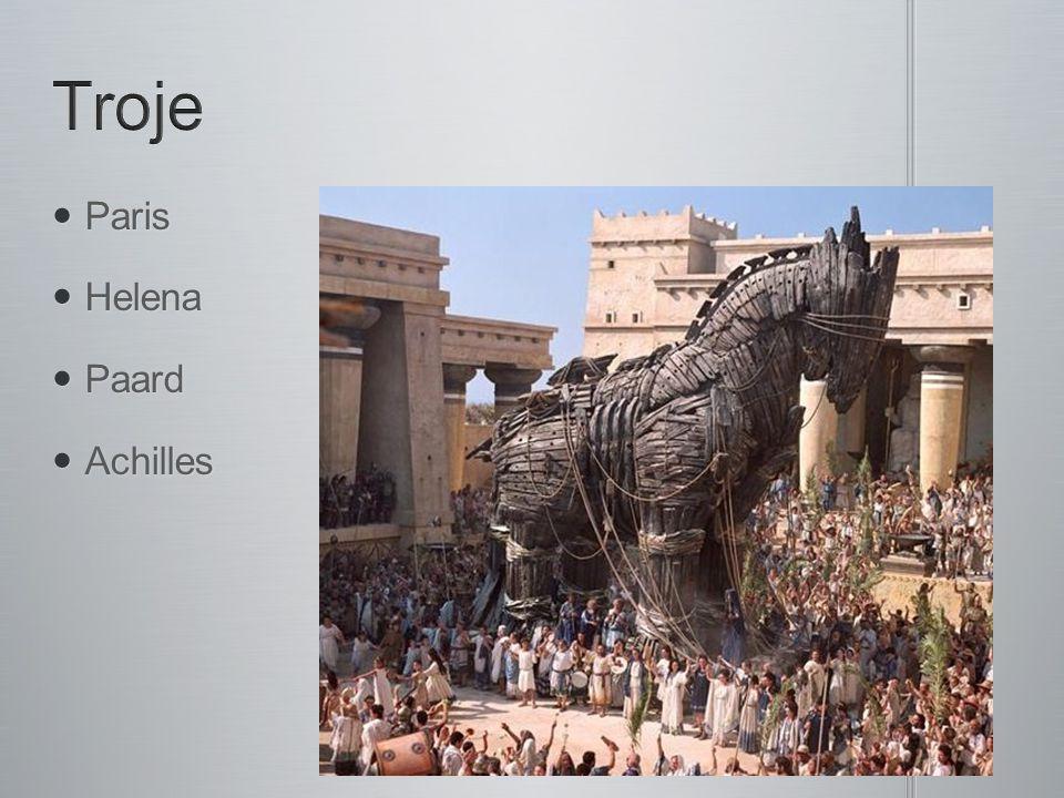 Paris Paris Helena Helena Paard Paard Achilles Achilles