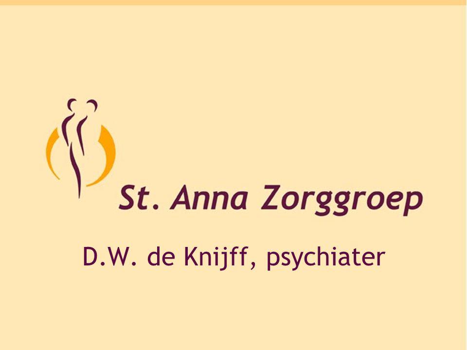 Depressie DWW de Knijff Psychiater St-Anna Ziekenhuis