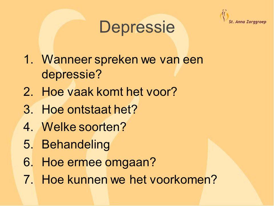 Werken antidepressiva wel? Niet bij lichte depressies Wel bij ernstige depressies