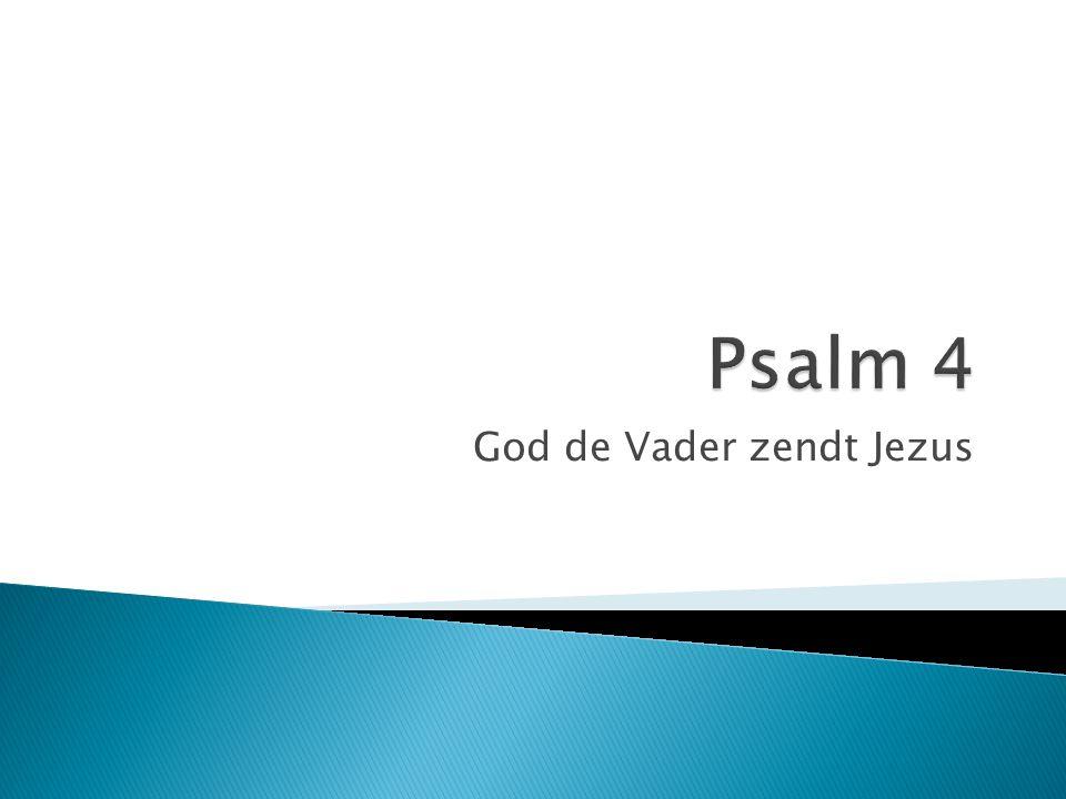 God de Vader zendt Jezus
