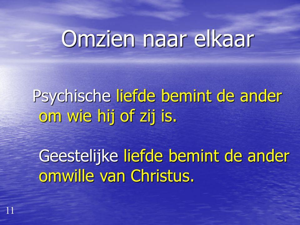 Onderscheid geest - psyche van belang voor… 1. Geestelijk leven 2. Kerkenraadswerk 3. Ambtelijk pastoraat 4. Onderlinge pastoraat: omzien naar elkaar