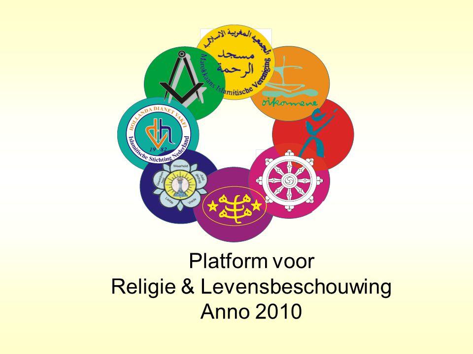 Platform voor Religie & Levensbeschouwing Anno 2010