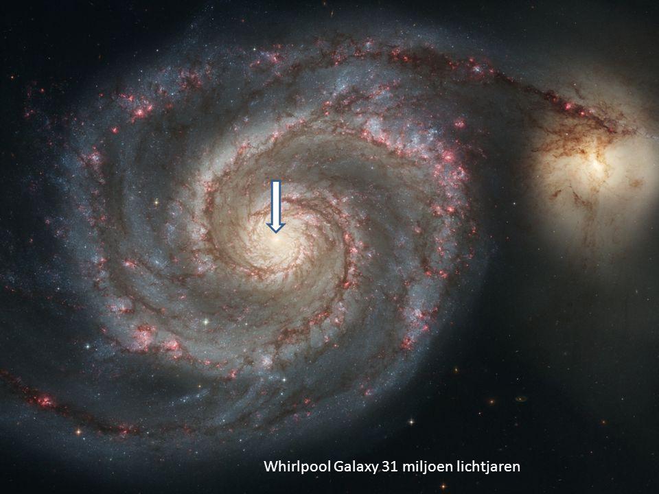 M-51 Nebula in the center of whirlpool Galaxy Ps 33:6 Door het woord van de HEER is de hemel gemaakt, door de adem van zijn mond het leger der sterren….