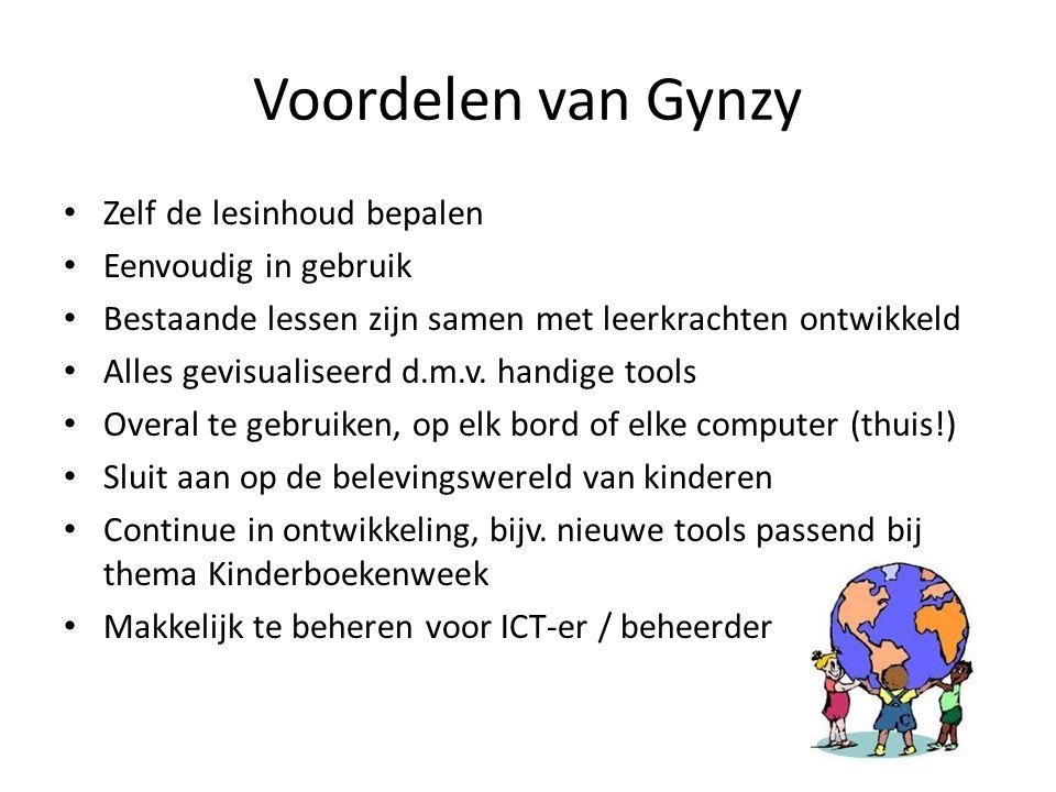 Hoe werkt Gynzy.