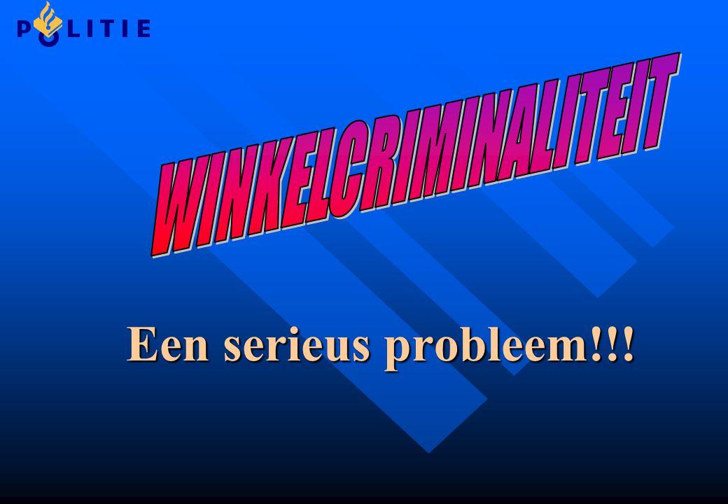 Een serieus probleem!!!