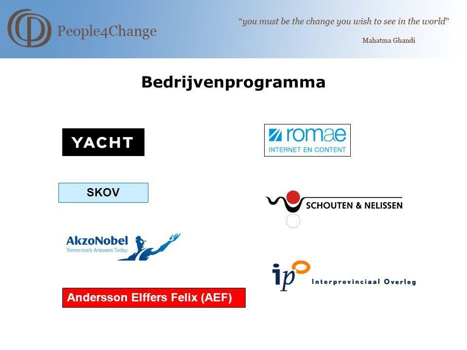 Bedrijvenprogramma Andersson Elffers Felix (AEF) SKOV