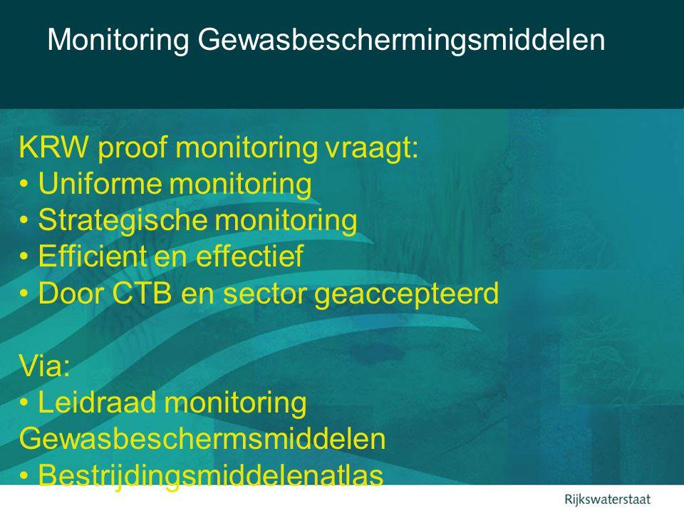 Monitoring Gewasbeschermingsmiddelen Imidacloprid 2003-2004 >MTR