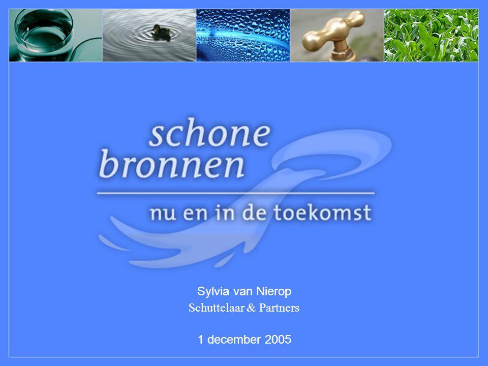 Sylvia van Nierop Schuttelaar & Partners 1 december 2005