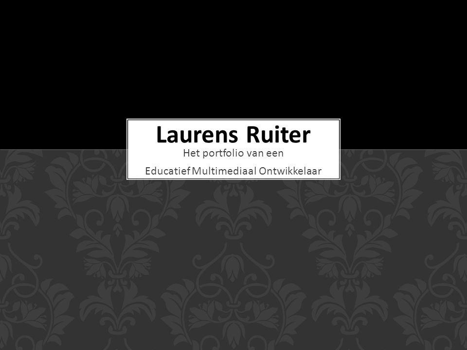 Het portfolio van een Educatief Multimediaal Ontwikkelaar