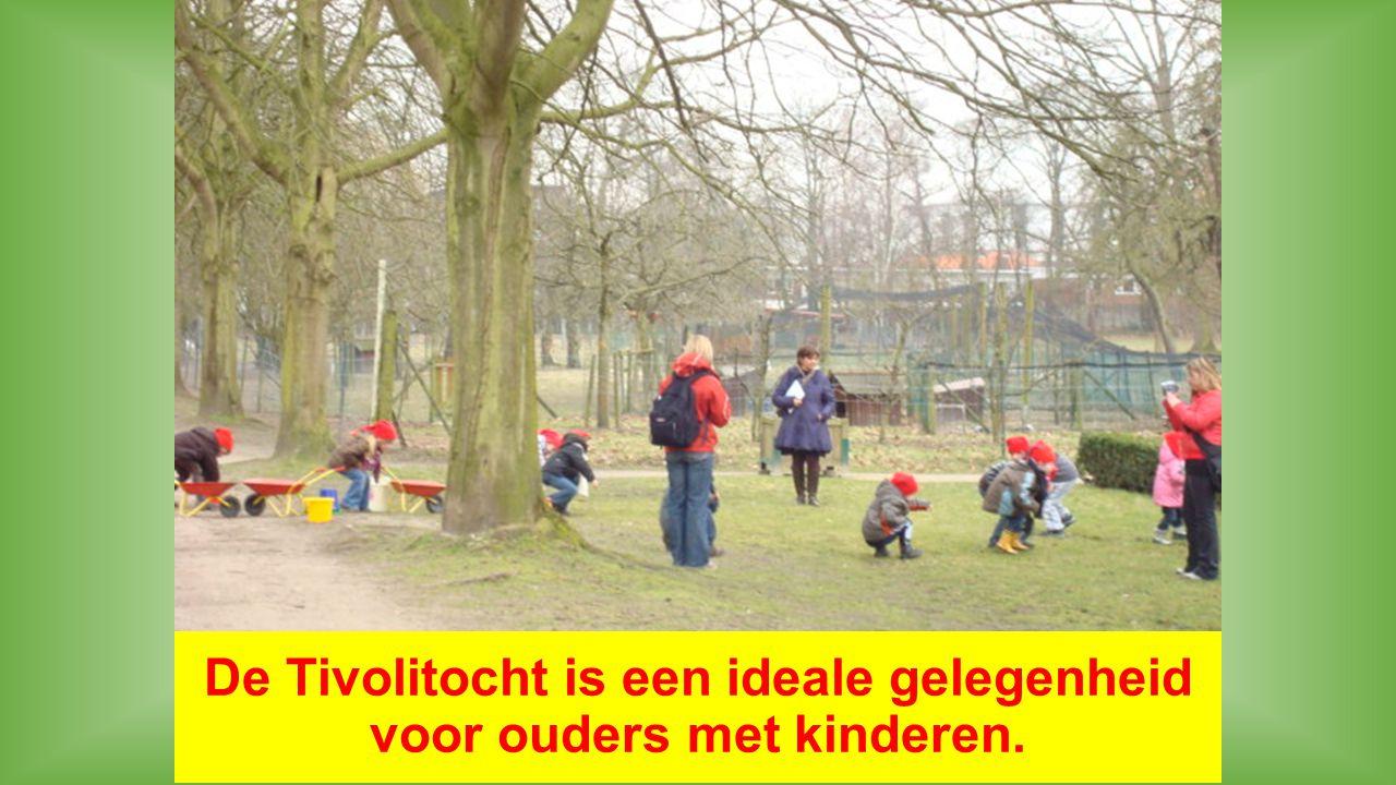 De Tivolitocht is een ideale gelegenheid voor ouders met kinderen.