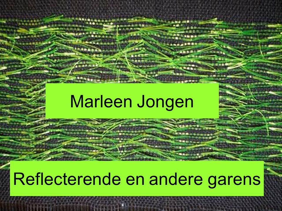 Marleen Jongen Reflecterende en andere garens