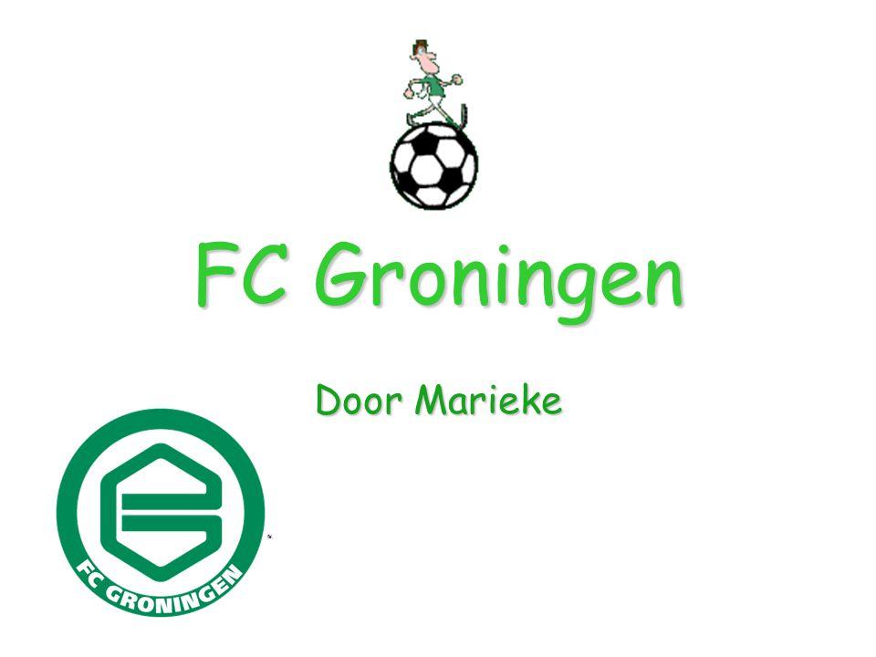 Inhoud FC Groningen Tenue Geschiedenis Stadion Spelers Ploeg Keeper Vragen