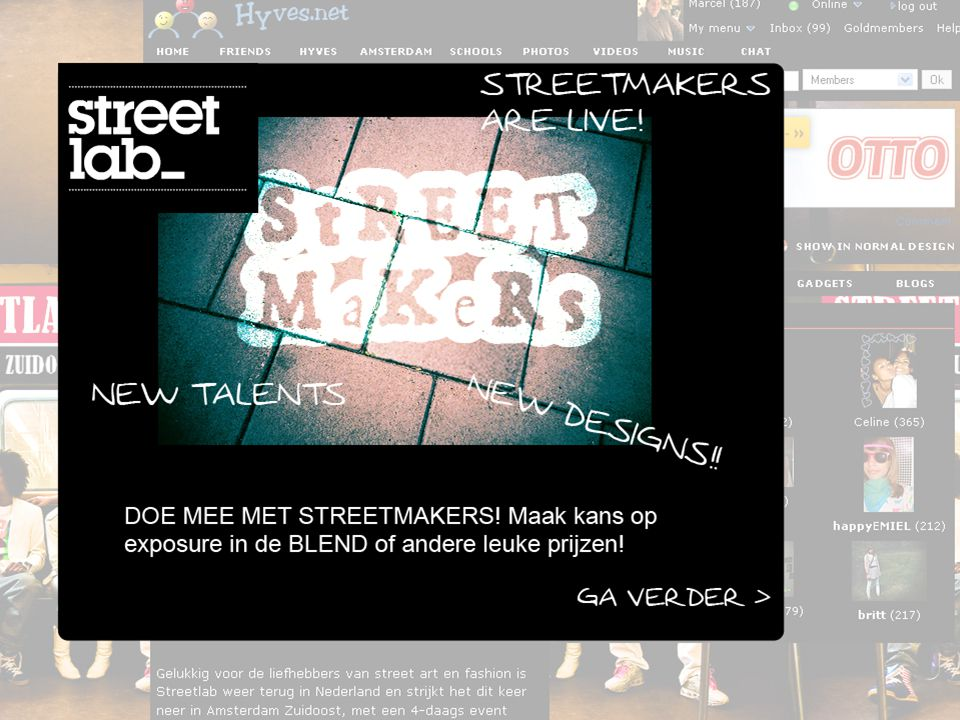 Online Media StreetMaker Takeover!