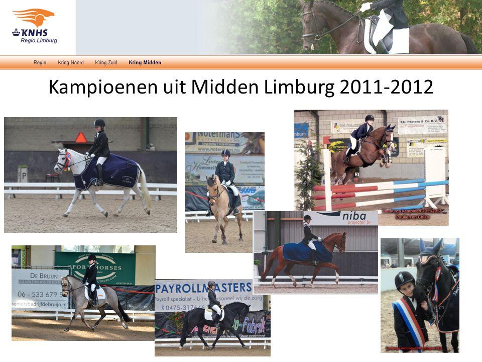 Kampioenen uit Midden Limburg 2011-2012