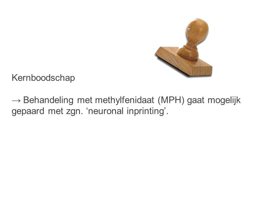 Kernboodschap → Behandeling met methylfenidaat (MPH) gaat mogelijk gepaard met zgn.