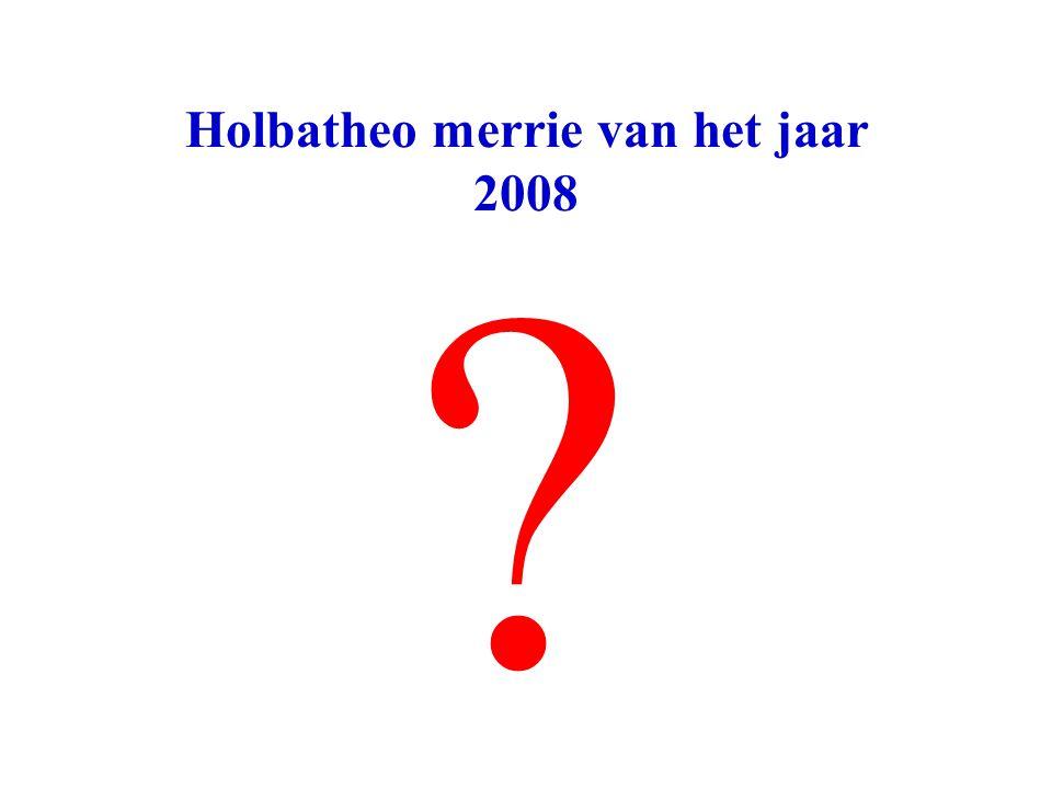 Holbatheo merrie van het jaar 2008