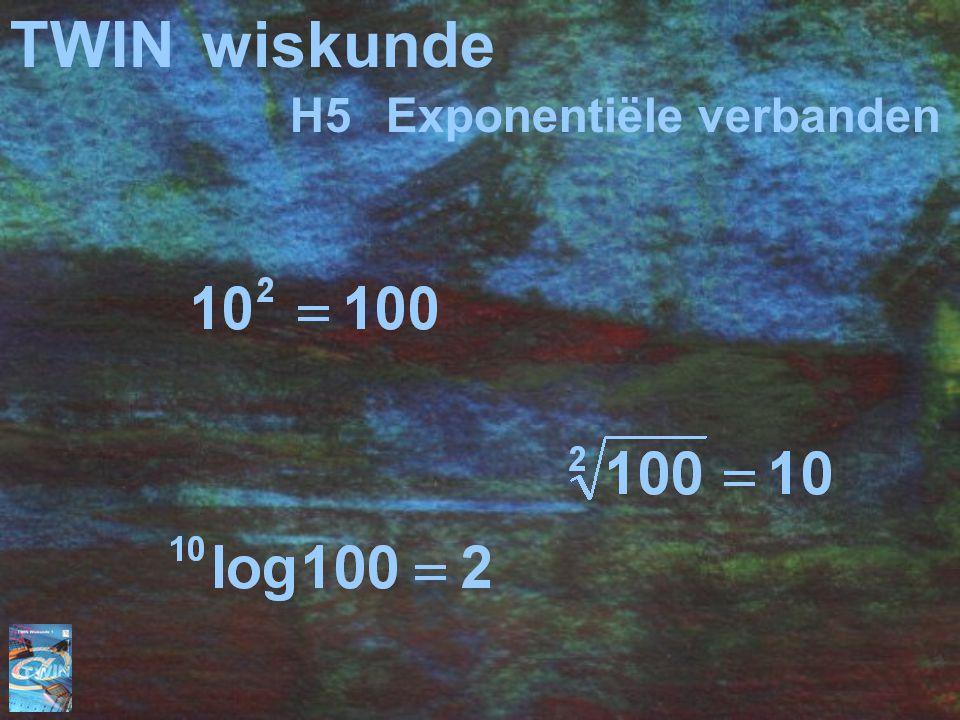 TWINwiskunde H5Exponentiële verbanden