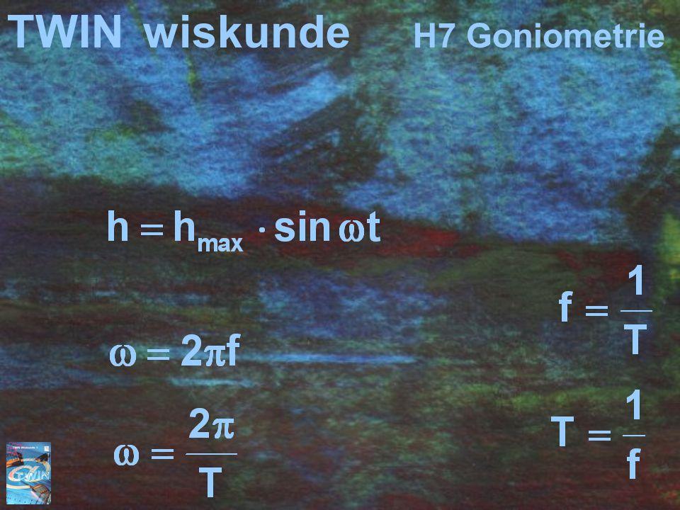 TWINwiskunde H7 Goniometrie