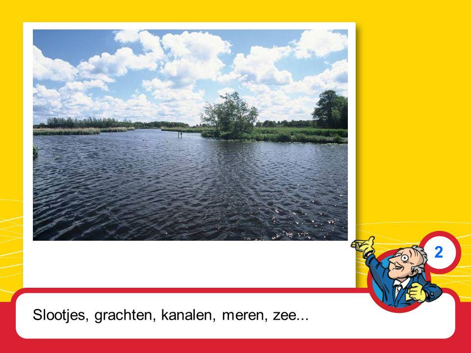 Slootjes, grachten, kanalen, meren, zee... 2