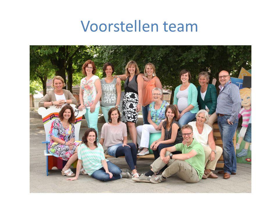 Voorstellen team
