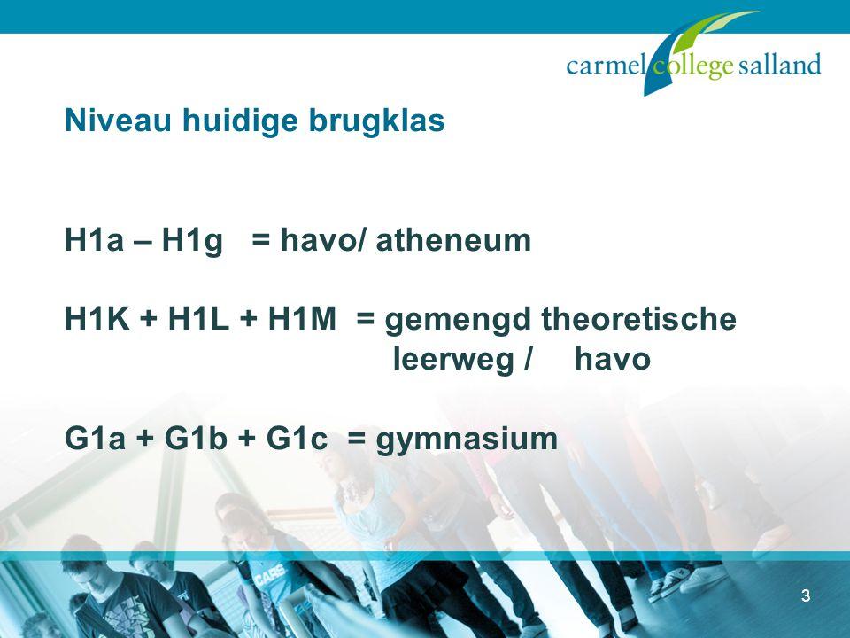 Verschillen tussen havo en atheneum, gymnasium 4 Cursusduur Niveau leerstof Tempo Talen Wiskunde Studiehouding