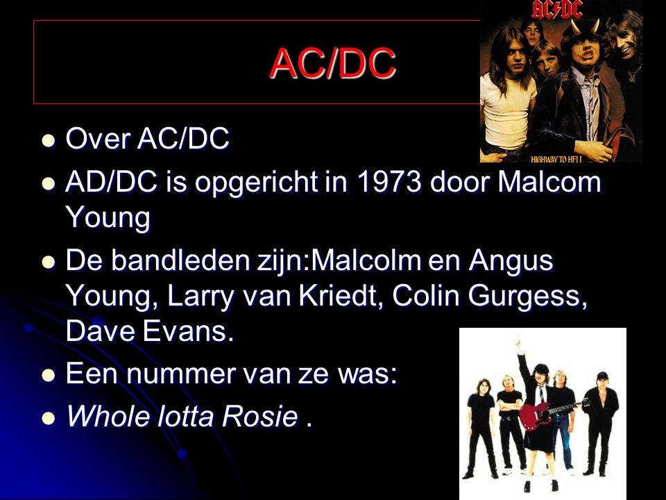 Bon Jovi In welk jaar de band is op gericht weet ik niet maar in de jaren 80 en 90 was het razend populair In welk jaar de band is op gericht weet ik niet maar in de jaren 80 en 90 was het razend populair Bandleden: Bon Jovi, Richie Sambora, David Bryan, Ticco Torres Bandleden: Bon Jovi, Richie Sambora, David Bryan, Ticco Torres Een nummer 1 hit was: It's my life Een nummer 1 hit was: It's my life
