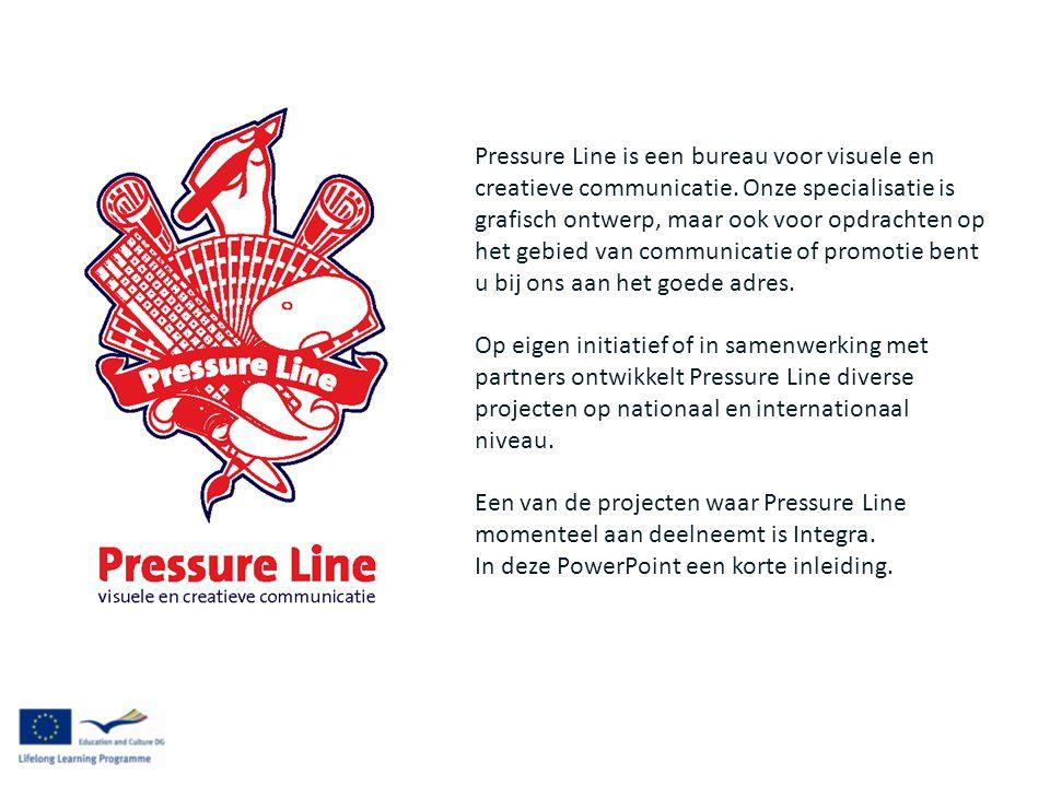 Pressure Line is een bureau voor visuele en creatieve communicatie.