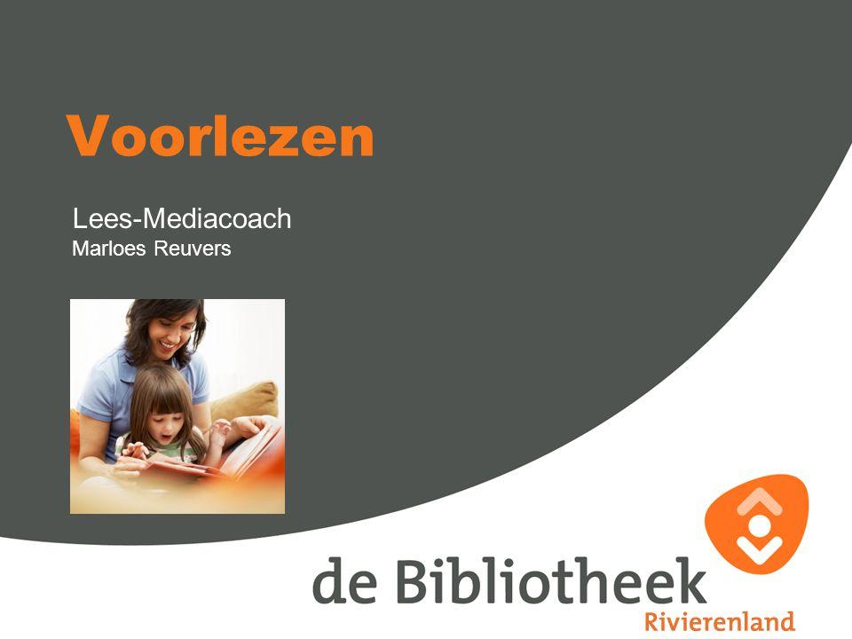 Lees-Mediacoach Marloes Reuvers Voorlezen