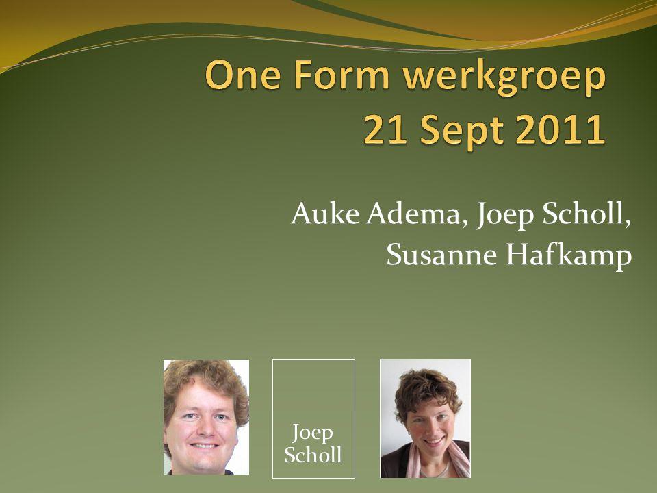 Auke Adema, Joep Scholl, Susanne Hafkamp Joep Scholl