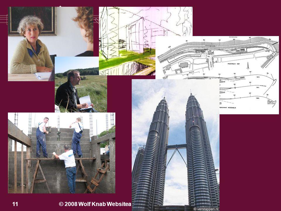 © 2008 Wolf Knab Websitearchitectuur, www.wolfknab.nl10 Een website maken........