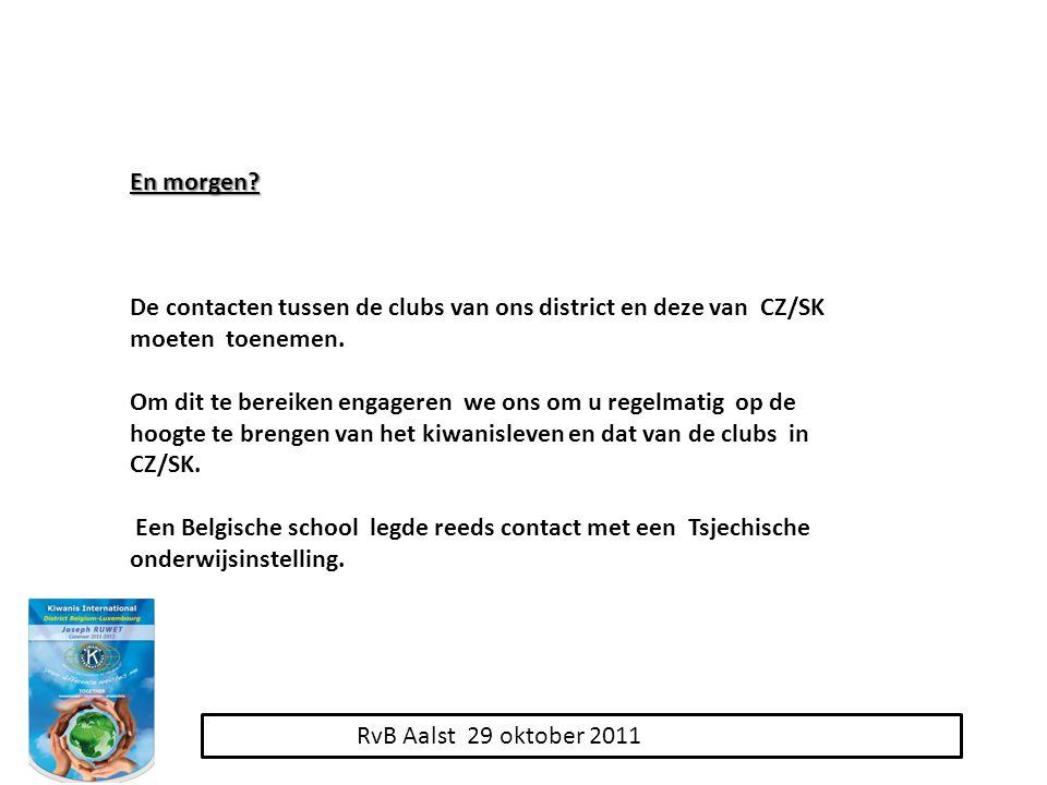 RvB Aalst 29 oktober 2011 En morgen.