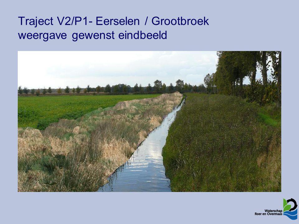 Traject V2/P1- Eerselen / Grootbroek weergave gewenst eindbeeld