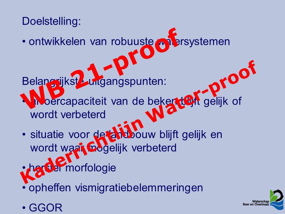 Traject V5 – BorgerveldMaatregelen 2x5 m herinrichtingszone Licht slingerende beek, deels beschaduwd Meer structuurvariatie dmv beplanting Matig intensief onderhoud