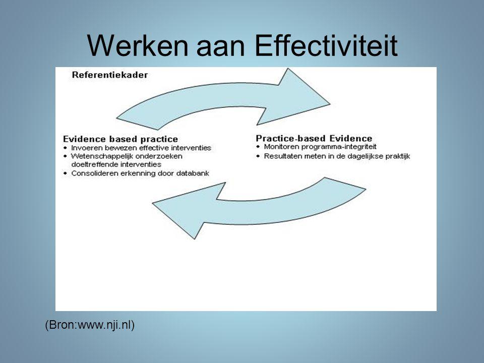 Werken aan Effectiviteit (Bron:www.nji.nl)