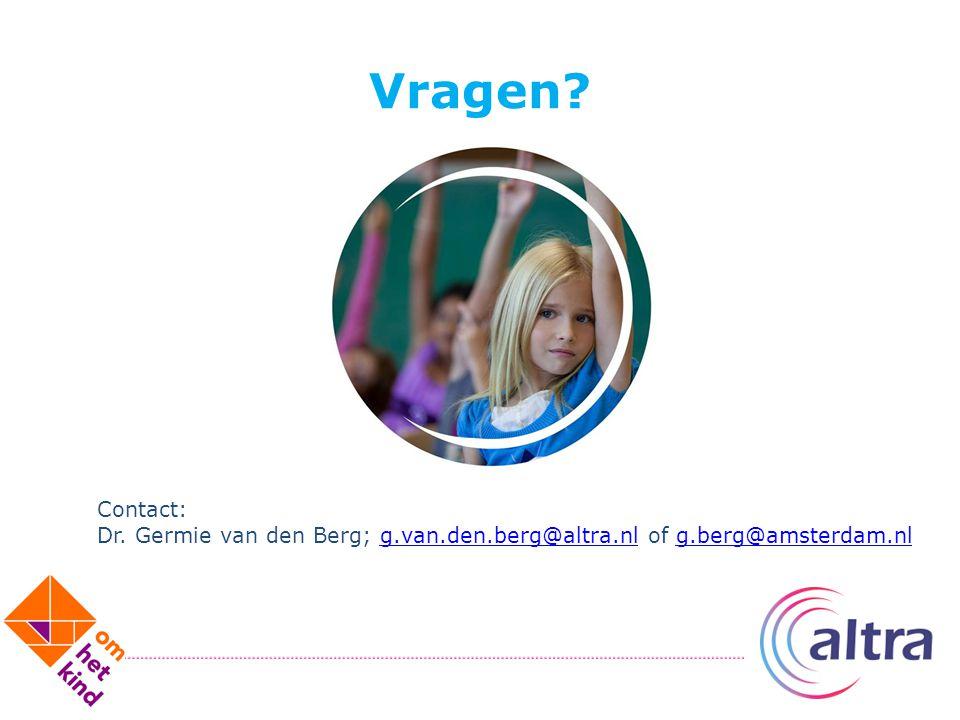 Vragen? Contact: Dr. Germie van den Berg; g.van.den.berg@altra.nl of g.berg@amsterdam.nlg.van.den.berg@altra.nlg.berg@amsterdam.nl