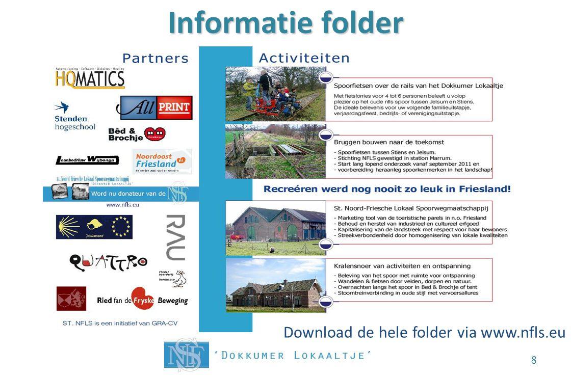 Informatie folder 8 Download de hele folder via www.nfls.eu
