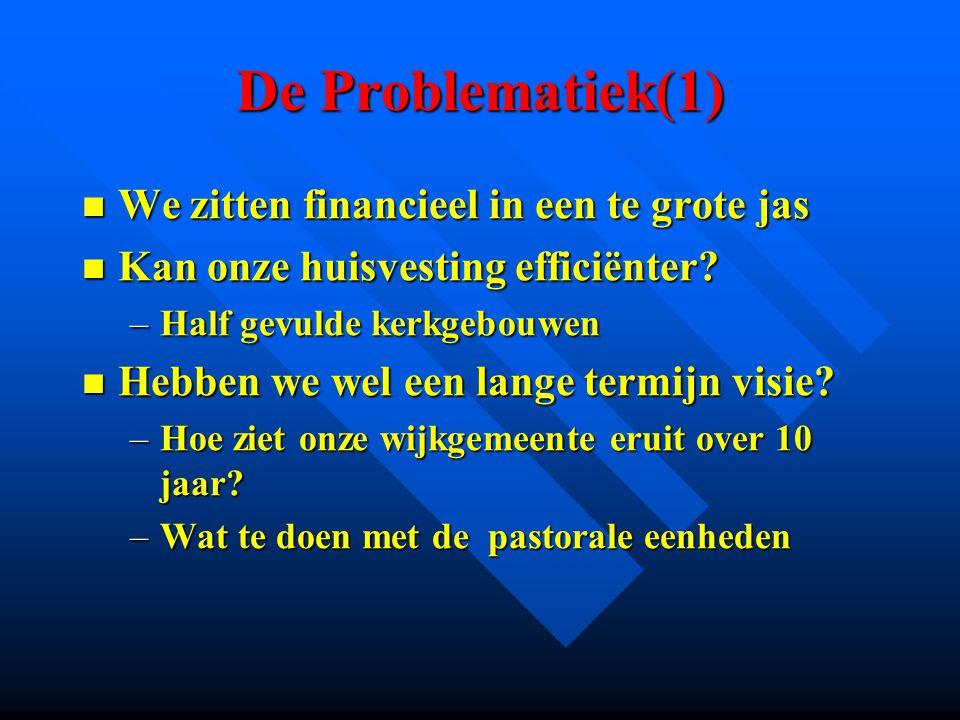 De Problematiek(2) Hoe zijn we gemeente.Hoe zijn we gemeente.