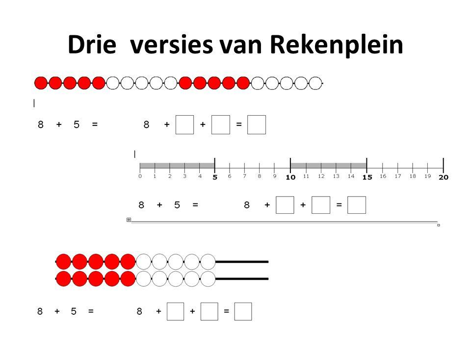 Rekendrempels Naast de vier reeds beschikbare mappen van Rekenplein, worden er op dit moment enkele nieuwe mappen ontwikkeld.