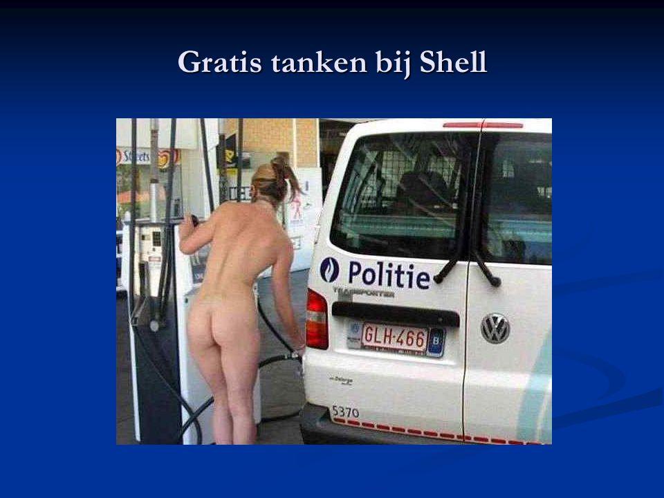 Gratis tanken bij Shell