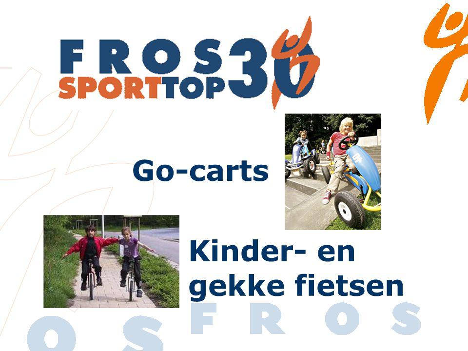 Go-carts Kinder- en gekke fietsen