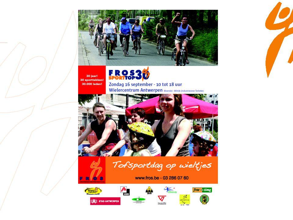 FROS-Feest.2007 30 jaar. 30 sporttakken. 30.000 leden.