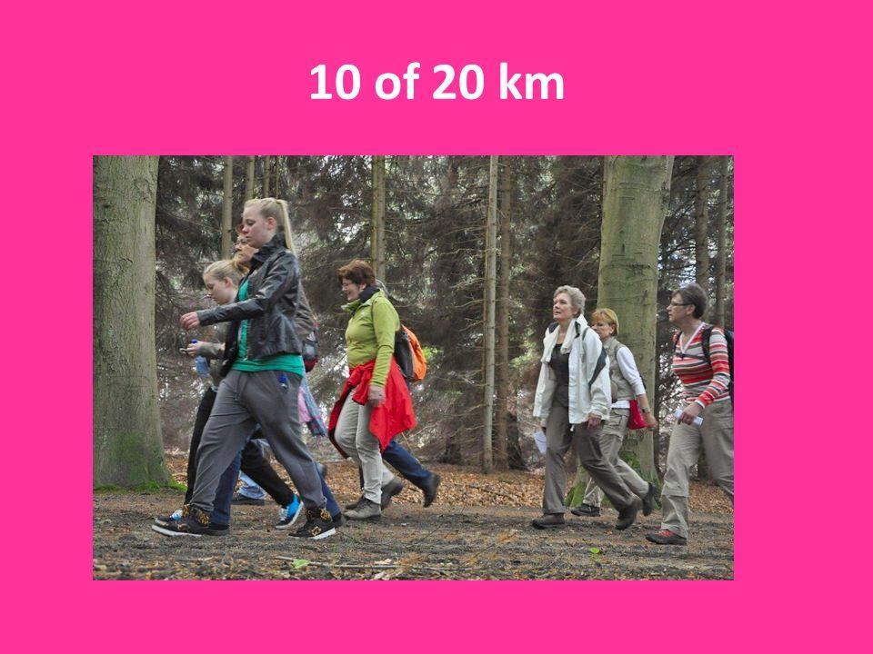 10 of 20 km