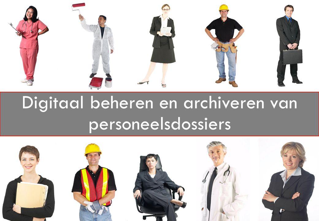 Digitaal beheren en archiveren van personeelsdossiers